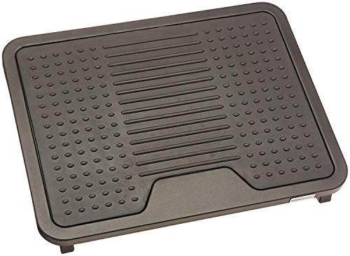 Amazon Basics Under Desk Foot Rest - Black