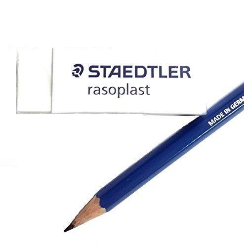 Staedtler Large Rasoplast Pencil Eraser (526 B20) Pack of 5 Erasers Photo #2