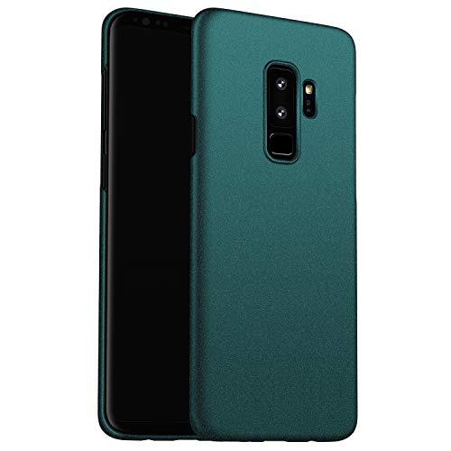 N+A Amosry Funda Samsung Galaxy S9 Plus,Absorción de Golpes Anti-Rasguños PC Esmerilado Funda Protectora para,Mate para Samsung Galaxy S9 Plus (Verde)