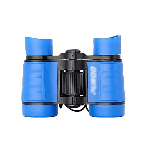 ROM Binoculares 4x30 Binoculares para niños Binoculares de Bolsillo livianos para niños de 3 a 12 años Binoculares para niñas