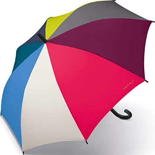 Esprit Stockschirm Long AC - Multicolor Combination