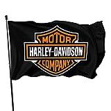 Harley Davidson Fahnen/Flagge/Gartenfahne/Dekorativer-Verf¨¹gbar In Allen Jahreszeiten?90 X 150 cm?.