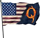 Viplili Flagge/Fahne, Q Anon Flags 3x5 Feet Garden House Outdoor Banners Decorative Flag