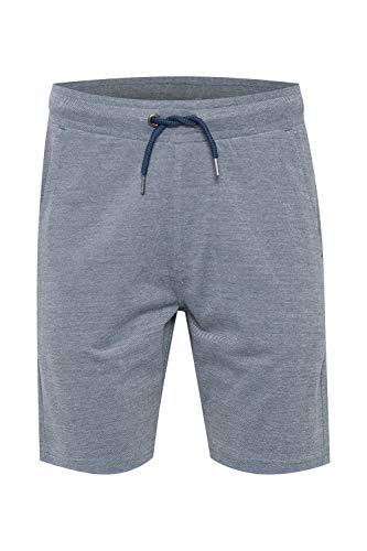 b BLEND San Luis - Pantalones cortos de chándal para hombre con cordón de ajuste regular Dark Denim (194118). M