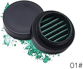 Oddalsai 3D Magnet Monochrome Eye Shadow Palette Shimmer Glitter Eye Shadow Powder 1#