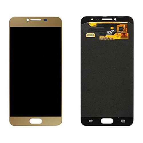 Durevole IPartsAcquista compatibile con display LCD Samsung Galaxy C5 / C5000 + gruppo digitalizzatore touch screen Ricambi per telefoni cellulari ( Taglia : For samsung galaxy c5/c5000 gold )