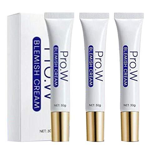 Whitening Cream, Pro.W Blemish Cream,Anti blemish, Sommersprossen Creme, Flecken creme, Aufhellende Ceme für Hautpflege Moisturizing Shrink Pores Whitening Cream