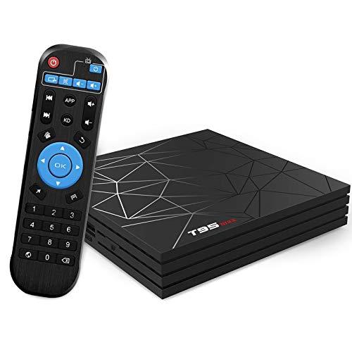 TUREWELL Android TV Box 2GB RAM 16GB ROM H6 Quad-Core supporto 2.4Ghz WiFi 6K HDMI DLNA 3D Smart TV Box