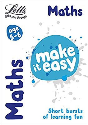 Maths Age 5-6 (Letts Make It Easy) from Letts