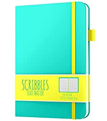 scribbles that matter pro edition journal notebooks in green