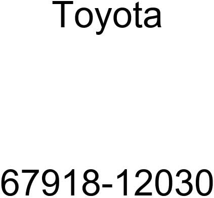 TOYOTA 67918-12030 Door Plate New arrival Scuff Cheap mail order specialty store