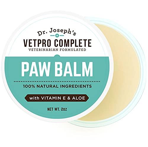 3. Dr. Joseph's 100% Natural Dog Paw Balm