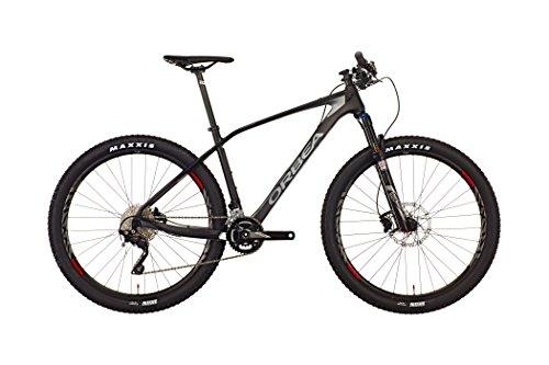 Orbea Alma M50 - Bicicleta de montaña de 29 pulgadas 2016, color negro, color Negro - negro., tamaño 44.5 cm, tamaño de rueda 20