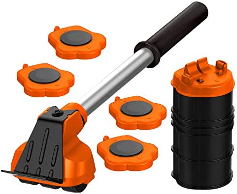 Heavy Duty Furniture Lifter with 4 Sliders for Easy and Safe Moving Appliance Roller Suitable product image