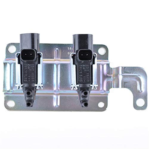 Motorvakuummagnetventil,MoreChioce Kohlenstoffstahl Ansaugkrümmer Vakuummagnetventil Vakuum Magnetventil Einlass M5G-9J-559NB 5243591 1357313 BS7E9J559AA kompatibel mit V 2004-2007 II 2004-2012