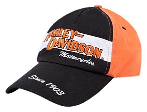 Harley-Davidson Big Boys' Baseball Cap, Youth H-D Prestige Twill Hat 0280282 Black