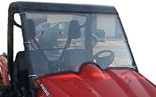 Yamaha Rhino 450,660,700 Full Front Clear Windshield.A Full 1/4 THICK!