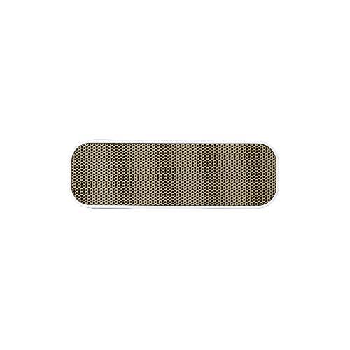 kreafunk agroove Wireless Tragbarer Aufladbarer Lautsprecher für iPhone, iPad und MP3-Player weiß