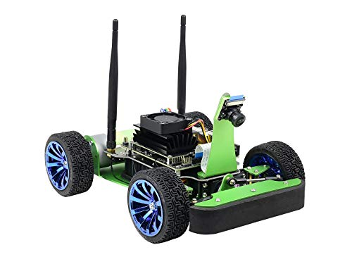 Waveshare JetRacer AI Racing Robot Accessory Powered by Jetson Nano DonKeyCar with Deep Learning Slef Driving and Vision Line Following