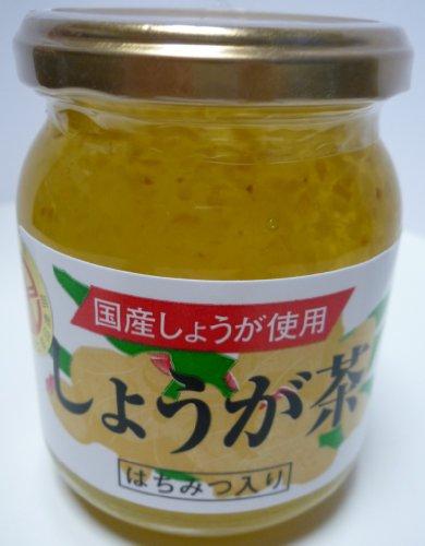 国産生姜と蜂蜜で爽やか しょうが茶