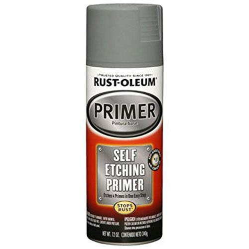Rust-Oleum 249322 Automotive Self Etching Primer, 12 oz, Dark Green Spray Paint