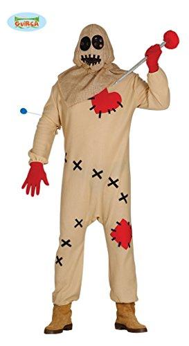Guirca- Kostüm Voodoo Erwachsene M, Beige, M (48-50), 84777