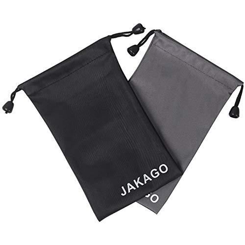 2 calcetines de móvil universales Jakago de tela impermeable para dispositivos de hasta 5,5' (11 x 18 cm)