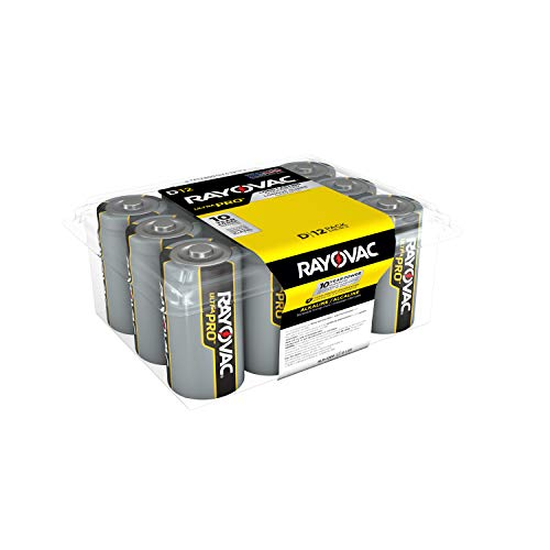 Our #5 Pick is the Rayovac D Batteries