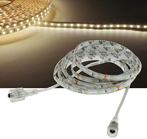 Chilitec 'LED Stripe CLS – 500 5 m, 300 LED, 12 V/21 W, Blanc Chaud, IP44, 1200 LM
