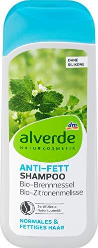Alverde – Shampoo gegen Fett und normales Haar – 200 ml