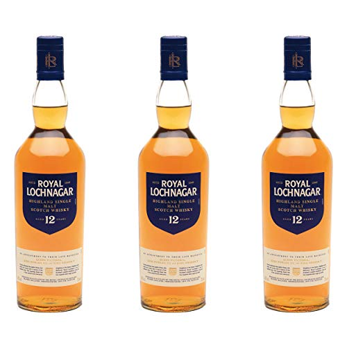 Royal Lochnagar 12 Years/Jahre, 3er, Single Malt, Whisky, Scotch, Alkohol, Alokoholgetränk, Flasche, 40%, 700 ml, 615698