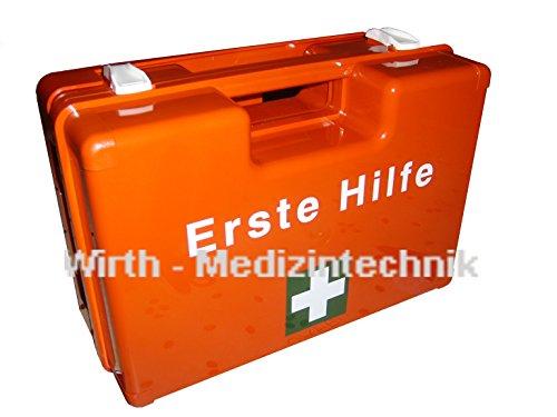 LeinaWerke 38001 Erste Hilfe-Koffer orange mit Inhalt ÖNORM Z 1020 Typ 1