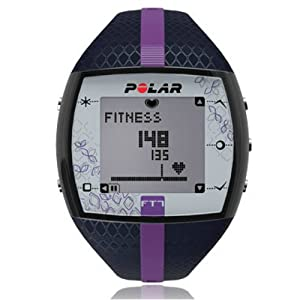 Polar FT7 Heart Rate Monitor (Blue/Lilac) (Renewed)