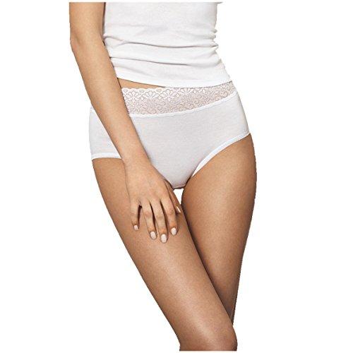 Speidel Damen Basic Taillenslip Natalie 5er Pack 1197 Größe 48, Farbe weiß