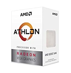 2 cores and 4 processing threads for smooth and responsive computing Advanced AMD Radeon graphics built-in for 720p esports gaming out-of-the-box Cutting-edge 'Zen' processor architecture has the power you need to harness the power of graphics card u...