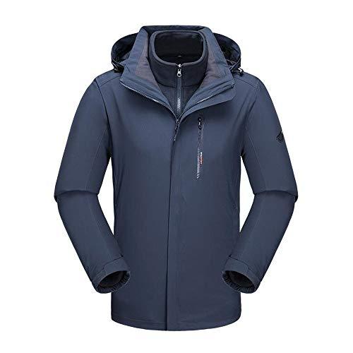 YIJIAHUI-Sport Heren Ski Jas Grote Maat Verdikking Sportkleding M-4XL Solid Color Ski Heren Ski Jas Draag