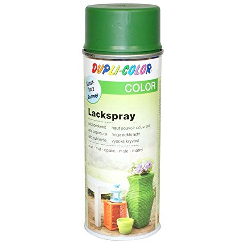 Dupli-Color 467042 Lackspray laubgrün matt 400 ml