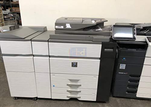 Sharp MX-M1054 Mono Laser Multifunction Production Printer - 105ppm, Copy, Print, Scan, Stapler Finisher, 4 Trays