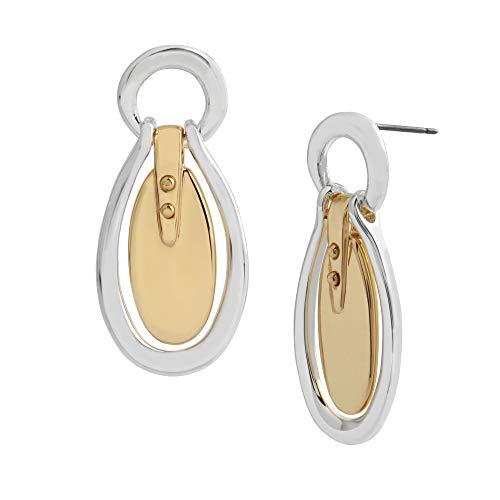 Oval Doorknocker Earrings