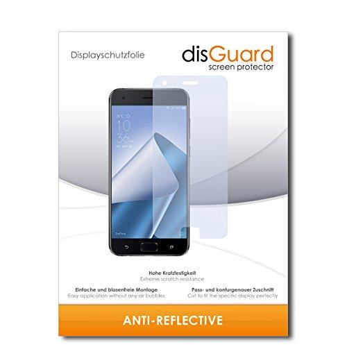 disGuard Schutzfolie für Asus Zenfone 4 Pro ZS551KL [2 Stück] Entspiegelnde Bildschirmschutzfolie, MATT, Glasfolie, Panzerglas-Folie, Bildschirmschutz, Hoher Festigkeitgrad, Glasschutz, Anti-Reflex