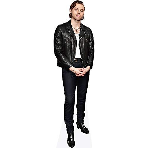 Celebrity Cutouts Luke Hemmings (Leather Jacket) Pappaufsteller lebensgross