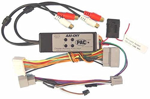 PAC AAI-CHY Dual Auxiliary Audio Input For 2005+ Chrysler Vehicles