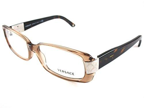 Versace 3130 - Gafas de sol para mujer, transparente, 52 mm Castoro Trasparente, Lenti * 54 mm