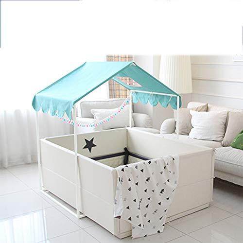YYFZ Teepee Tent voor Kids bed tenten voor meisjes Dedicated speelhuis is geschikt voor 2-3 personen Pop Up Tent voor jongens Meisjes Indoor en Outdoor Plays