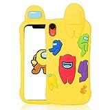 Darnew Yellow Among Custodia per iPhone X/XS Casi, Cartone...