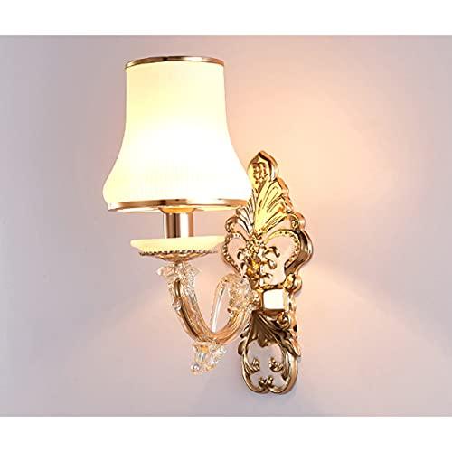 Apliques Pared Interior Dormitorio,Lámparas De Pared Para Mesita De Noche,Iluminación De Pared Salon,Una Sola Cabeza 15 * 35 Cm Luz Blanca Lámpara Minimalista Creativa De Estilo Europeo.