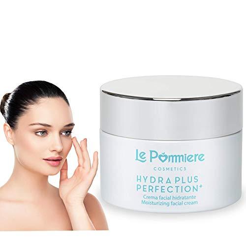 Le Pommiere crema nutritiva hidratante antiedad 50ml. Antiarrugas ácido hialurónico, colágeno, aloe...