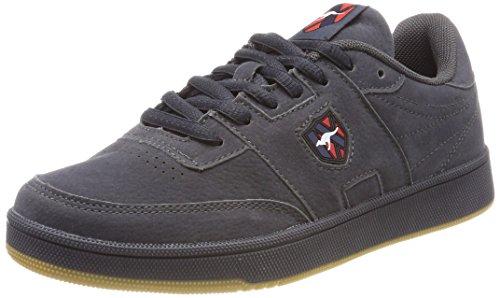 KangaROOS Unisex Retro Cup Sneaker, Grau Steel Grey, 42 EU