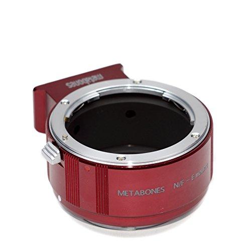 Metabones Nikon F E-Mount rot/Chrom