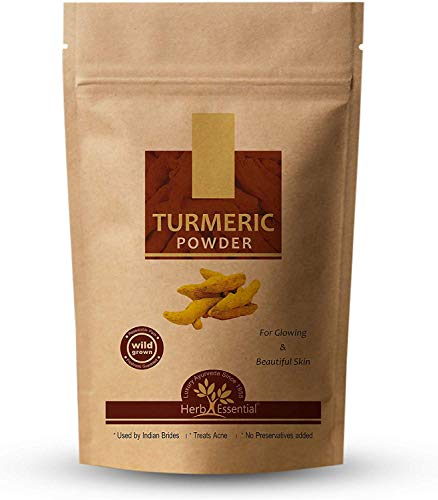 Herb Essential Kasturi Turmeric Powder for Face and Skin, 50g